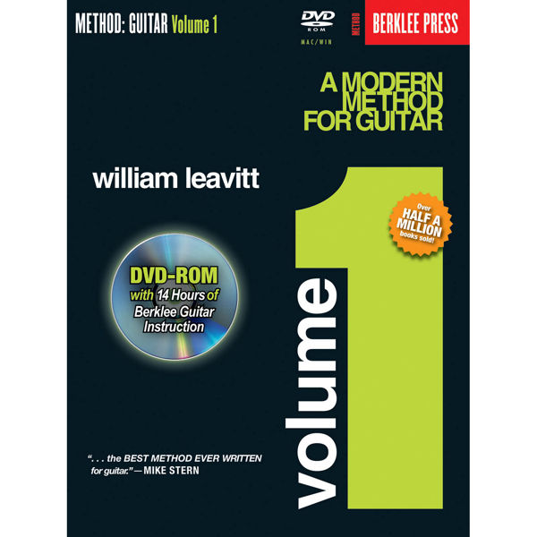 A Modern Method For Guitar Vol 1 Book and DVD