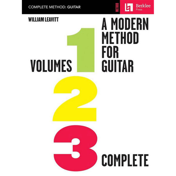 A Modern Method For Guitar Vol 1,2, 3 Complete