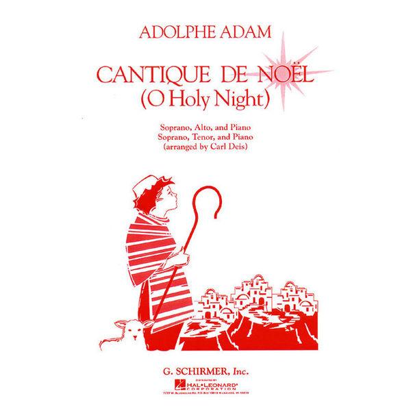 Cantique De Noel Vocal Duet, Adolphe Adam
