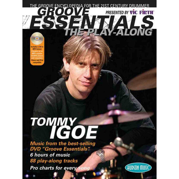 Groove Essentials Vol.1 Tommy Igoe Play Along, m/CD