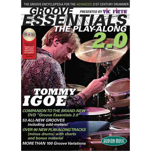 Groove Essentials Vol.2 Tommy Igoe Play Along, m/CD
