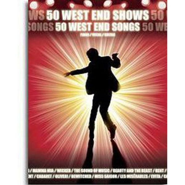 50 West End Shows - Piano/Vokal/Gitar
