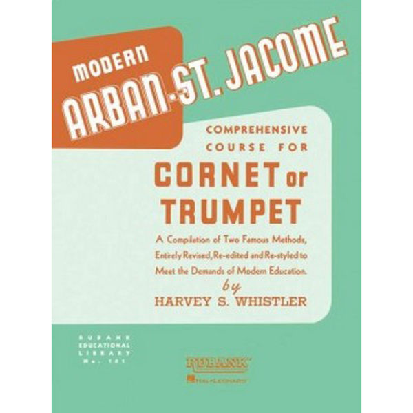 Modern Arban-St Jacome, Comprehensive Course for Cornet or Trumpet