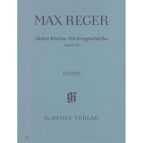 10 Little Pieces op. 44, Max Reger - Piano solo