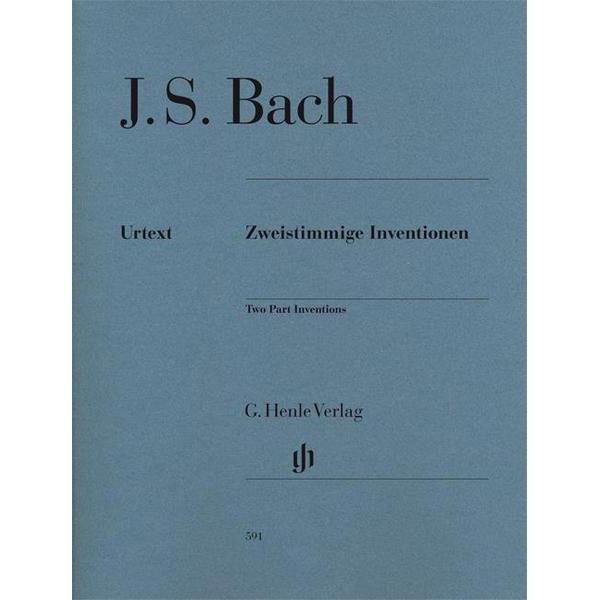 Two part Inventions, BWV 772-786, Johann Sebastian Bach - Piano solo