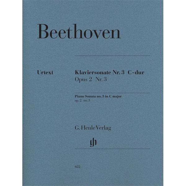 Piano Sonata No. 2 C major op. 2,3, Ludwig van Beethoven - Piano solo