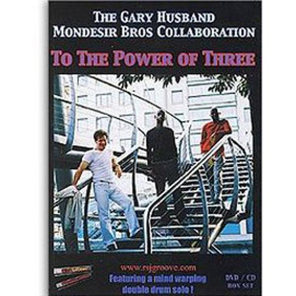 DVD Gary Husband & Mark Mondesir, To The Power Of Three