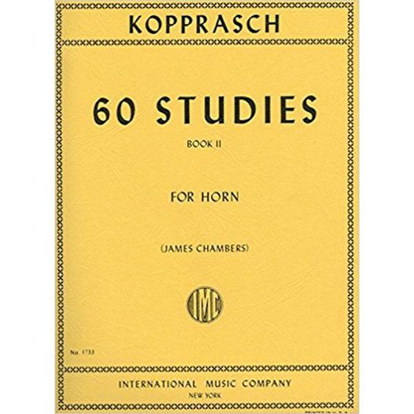 Kopprasch Sixty Studies for Horn Vol 2