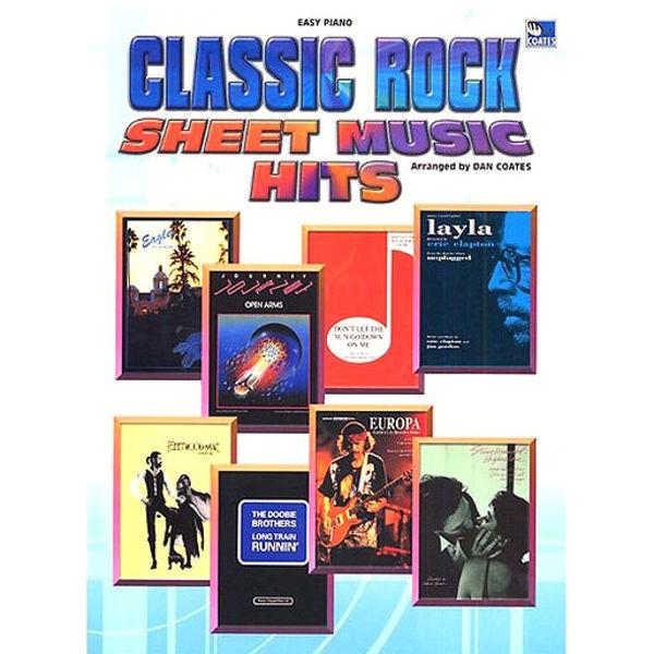 Classic Rock Sheet Music Hits (Easy Piano), Dan Coates
