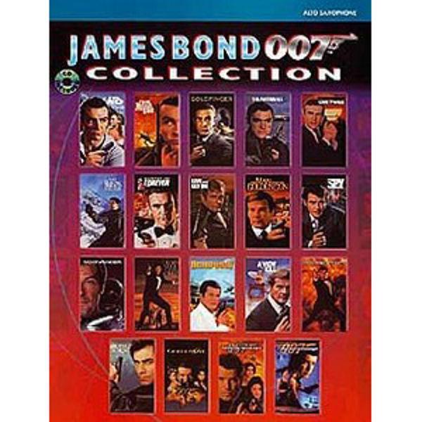 James Bond 007 Collection - altsax m/cd