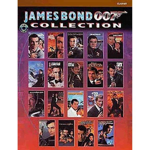 James Bond 007 Collection - klarinett m/cd