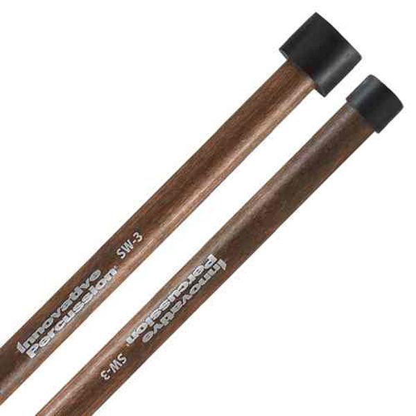 Steel Drum Stikker Innovative Percussion SW-3, Double Second, Walnut Shaft