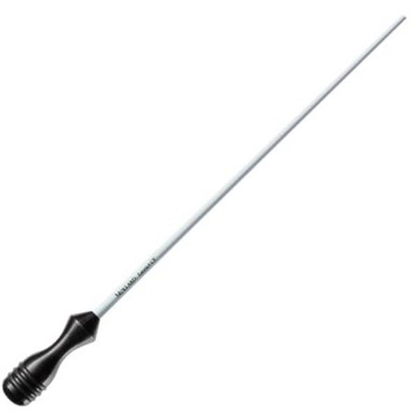 Taktstokk Mollard Lancio 14 Black Handle Carbon Fiber White