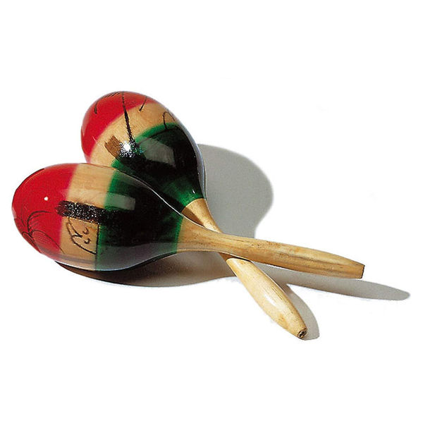 Maracas Sonor L2693, Large, Mexican Style
