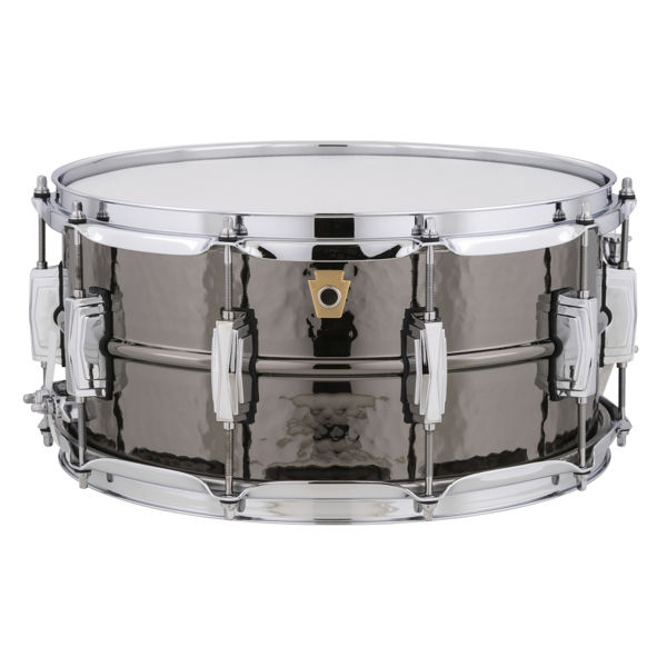 Skarptromme Ludwig Black Beauty Supraphonic LB417K, 14x6,5, Hammered Shell, Imperial Lugs