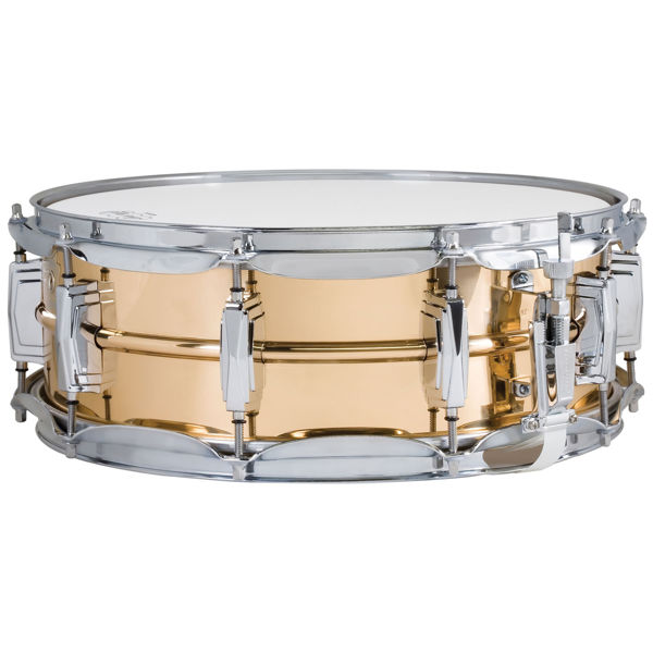 Skarptromme Ludwig Bronze Supraphonic LB550, 14x5, Smooth Shell, Imperial Lugs