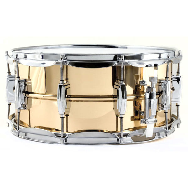 Skarptromme Ludwig Bronze Supraphonic LB552, 14x6,5, Smooth Shell, Imperial Lugs