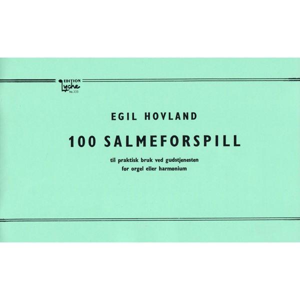 100 Salmeforspill, Egil Hovland. Orgel
