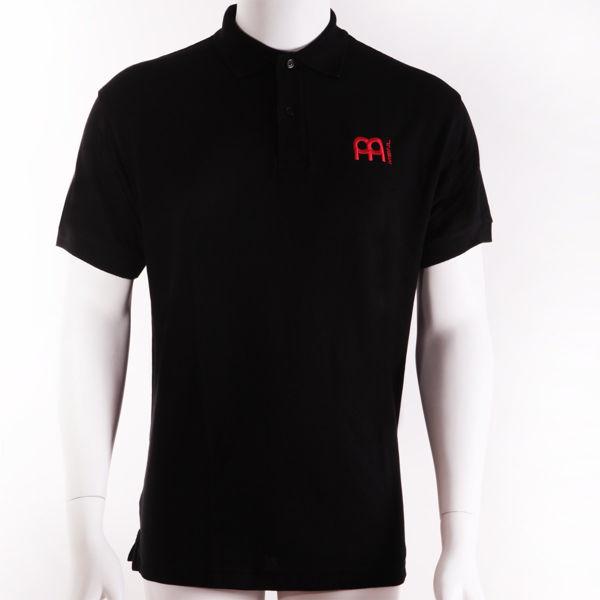 Genser Meinl M25XL, Polo Shirt Black, X-Large