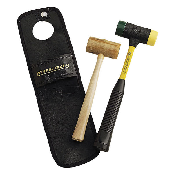 Rørklokkehammer Musser M336, Rawhide Chime Mallet #2