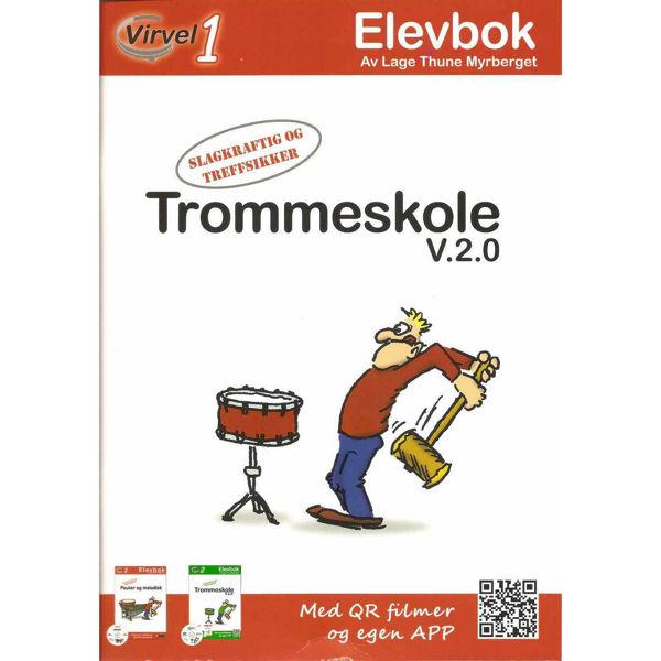 Virvel 1, Elevbok, Trommeskole, Lage Myrberget