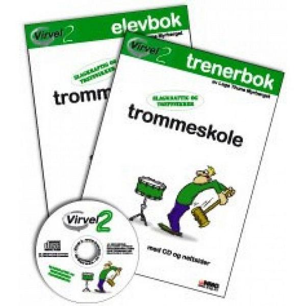 Virvel 2, Trenerbok m/CD Trommeskole