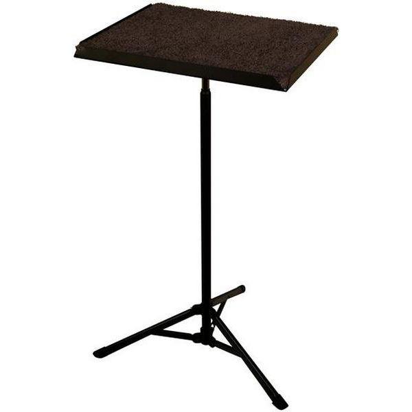 Stikkebord Manhasset #2250, Percussion Trap Table 52 Shaft/Base, Black, Trinnløs
