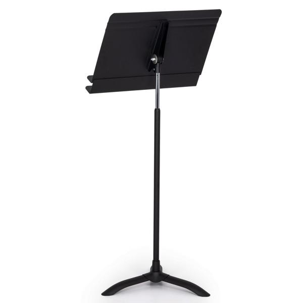 Notestativ Manhasset #50, Orchestral Stand, Black, Trinnløs