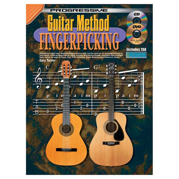 Progressive Guitar Method: Fingerpicking