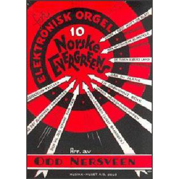 10 Norske Evergreens, Odd Nersveen - El-Orgel