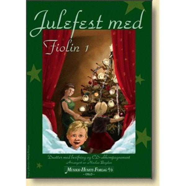 Julefest med Fiolin 1, m/CD, Nicolae Bogdan