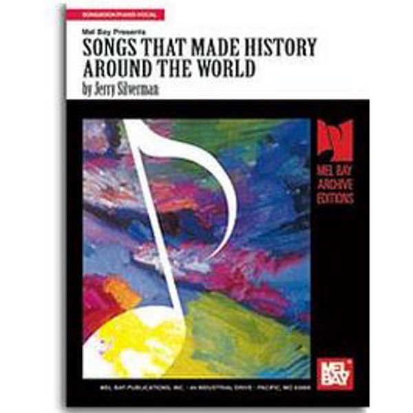 Songs that made History around the World, Jerry Silverman. Piano/Vocal