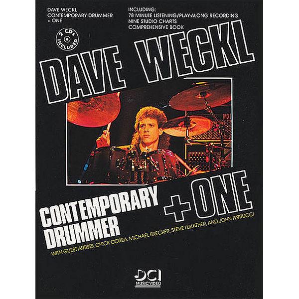 Contemporary Drummer + One Dave Weckl m/CD