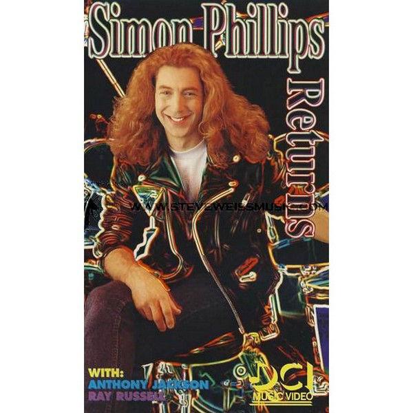 Simon Phillips Returns. m/CD