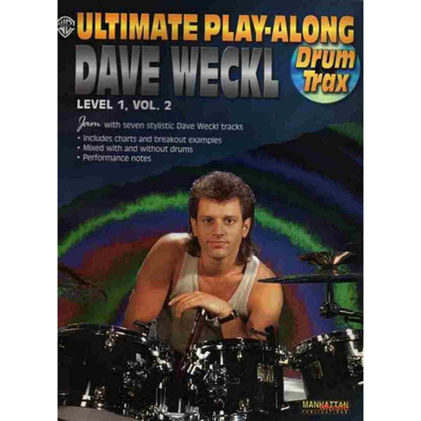 Ultimate Play-Along For Drum Level 1, Vol 2. Dave Weckl