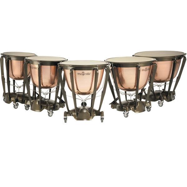 Pauke Majestic Symphonic Hammered Copper MP2300H, 23 Cambered
