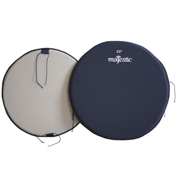 Paukebeskyttelses-Plate Majestic MPD23, 23 m/Filt