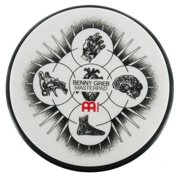 Trommepad Meinl MPP-6-BG, Practice Pad, 6, Benny Greb Masterpad