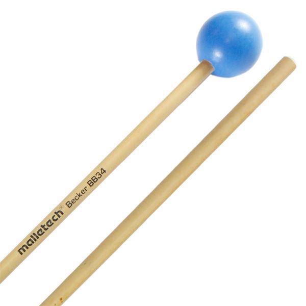 Xylofonkøller Malletech BB34, Bob Becker Series, Medium Hard, Blue
