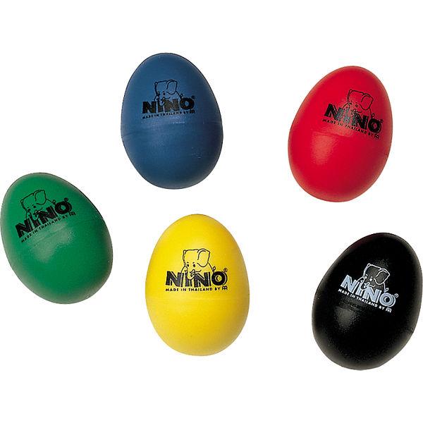 Egg Shaker Nino, Diverse Farger pr. Stk.