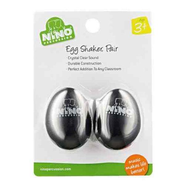 Egg Shaker Nino BK-2, Black, Par