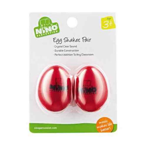 Egg Shaker Nino R-2, Red, Par