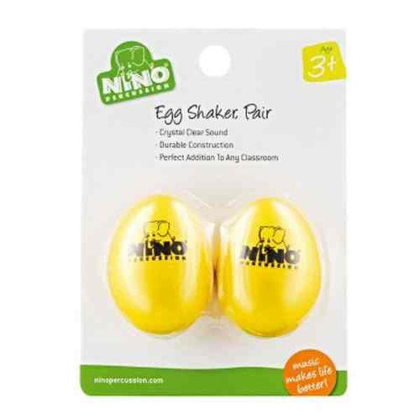 Egg Shaker Nino Y-2, Yellow, Par