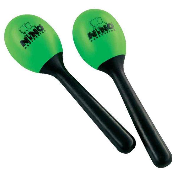 Maracas Nino 569GG, Plast Små, Green