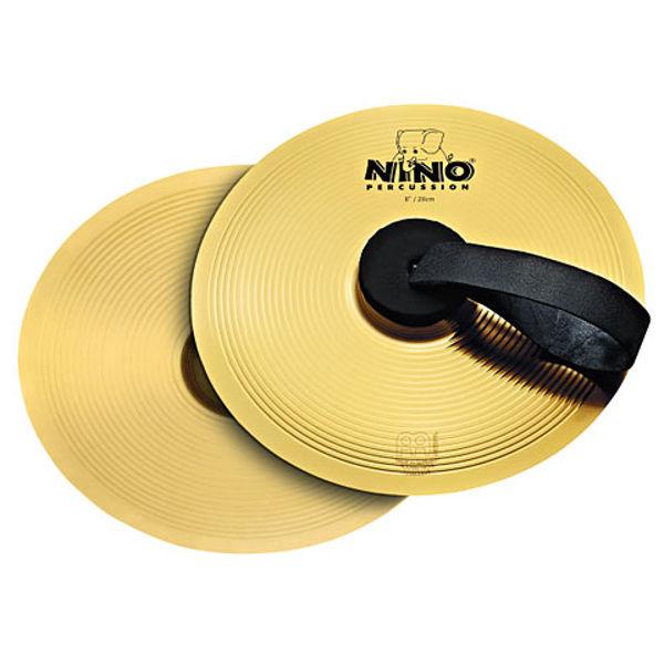 Marsjcymbal Meinl Brass, Nino-BR20, Pair, 8