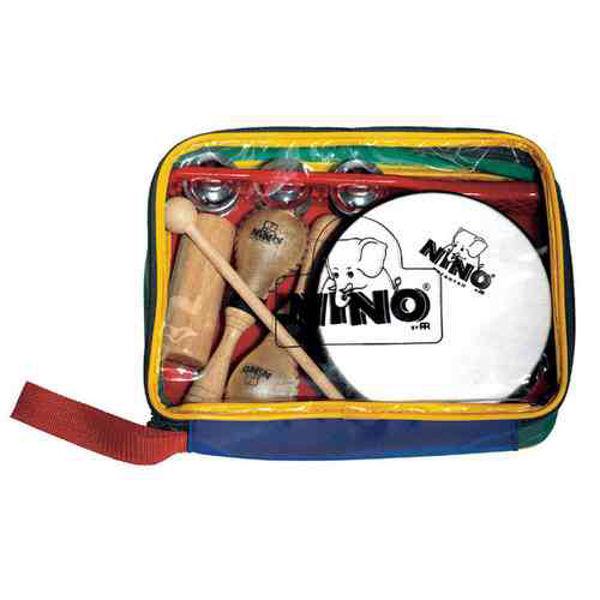 Perkusjonssett Nino SET1, 6 stk. Diverse Små Instrumenter