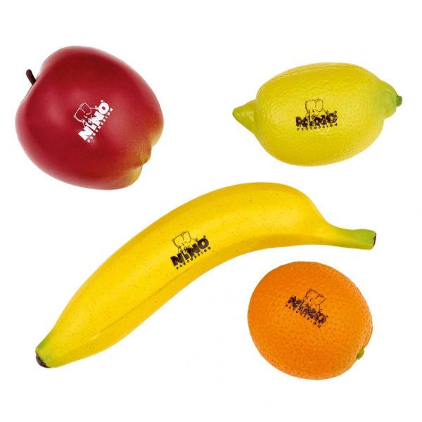 Shaker Nino NINOSET100, 4 Assoterte Frukter
