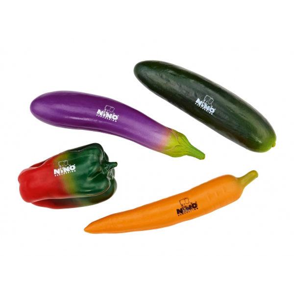 Shaker Nino NINOSET101, 4 Assoterte Grønnsaker