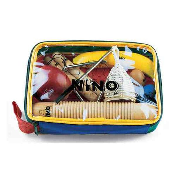 Perkusjonssett Nino SET4, 8 stk. Diverse Små Instrumenter