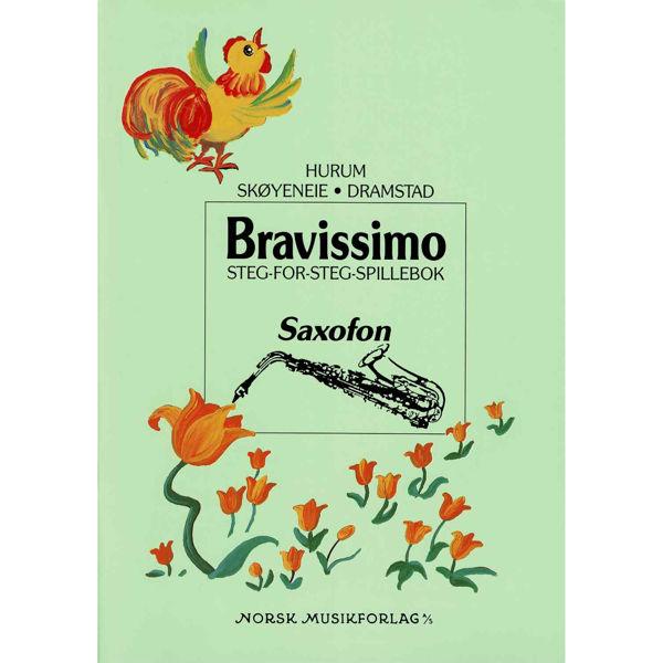 Bravissimo - Saxofon, Steg-For-Steg-Spillebok, Hurum/Skøyeneie/Dramstad